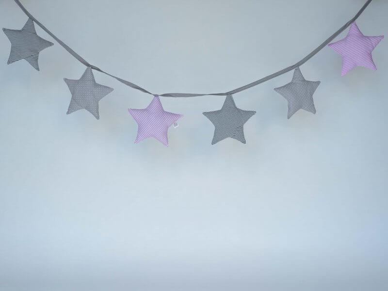 Banderines Estrella Mod.Rosa