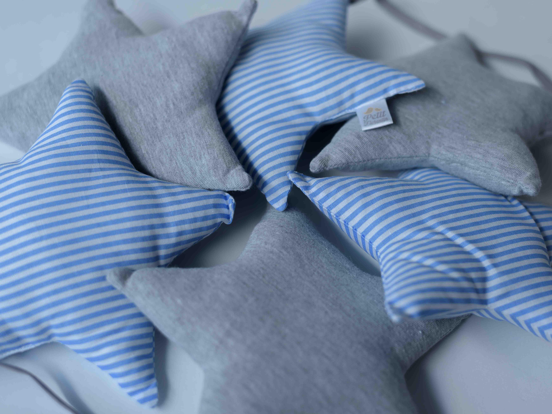 Banderines Estrella Mod. azul